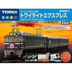 トミックス (N) 90172 ベーシックセットSD トワイライトエクスプレス(PCレール)