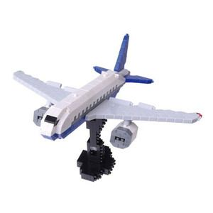 カワダ ナノブロック NBM-013 旅客機