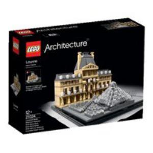 レゴジャパン LEGO 21024 アーキテクチャー ルーブル美術館