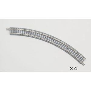 トミックス (N) 1195 カーブPCレール C243-45-PC(F)(4本セット)