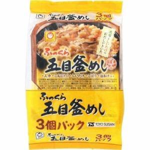 東洋水産 マルちゃん ふっくら五目釜めし3個パック 160gX3