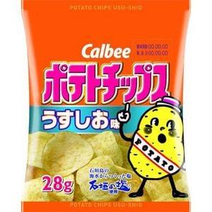 カルビー ポテトチップスうすしお味 28g