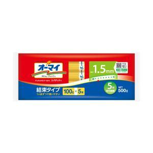 日本製粉 オーマイ スパゲッティ1.5mm結束タイプ 500g