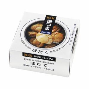 KK 缶つまP 北海道ほたて 燻製油漬け F3号缶