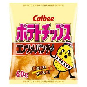 カルビー ポテトチップス コンソメパンチ60g