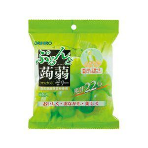 オリヒロ ぷるんと蒟蒻ゼリーパウチ マスカット
