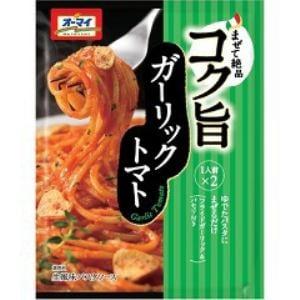 日本製粉 オーマイ コク旨ガーリックトマト(2袋入)