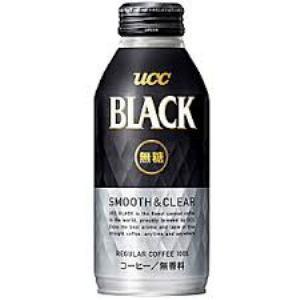 UCC ブラック 無糖 スムース&クリア 375g