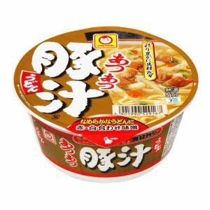 東洋水産 マルちゃん あつあつ豚汁うどん  カップ 109g