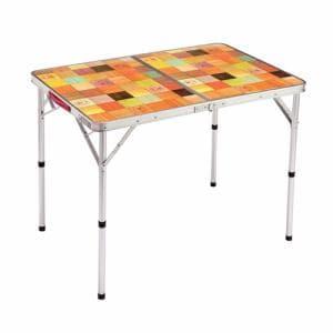 コールマン アウトドアテーブル 大型テーブル ナチュラルモザイクリビングテーブル 90プラス 2000026752 Coleman