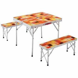 コールマン テーブル ベンチセット ナチュラルモザイク ファミリーリビングセット/ミニプラス 2000026758  coleman