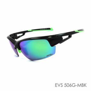 (株)ミック MPS18-EVS506G-MBK 偏光スポーツサングラス EVOLVE  メタリックブラック