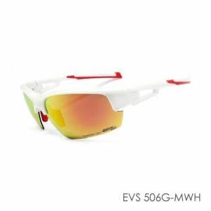 (株)ミック MPS18-EVS506G-MWH 偏光スポーツサングラス EVOLVE  メタリックホワイト