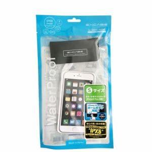 (株)ミック MM18-EX-2002-1 スマートフォン用防水ケース EX-CASE  ブラック