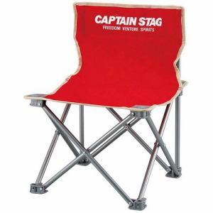 CAPTAIN STAG M-3919 キャプテンスタッグ パレット コンパクトチェア(レッド)