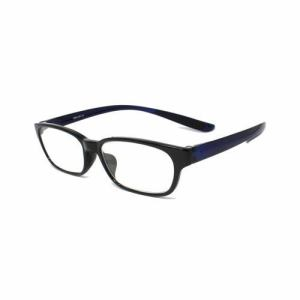 (株)ミック RSN001-01+1.50-SSS 首にかけられる老眼鏡 RESA(レサ) ブラック×ネイビー
