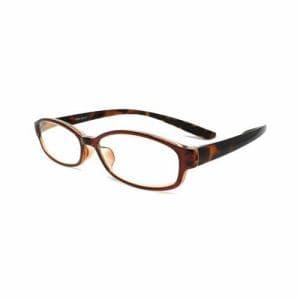 (株)ミック RSN002-01+2.50-SSS 首にかけられる老眼鏡 RESA(レサ) ブラウン