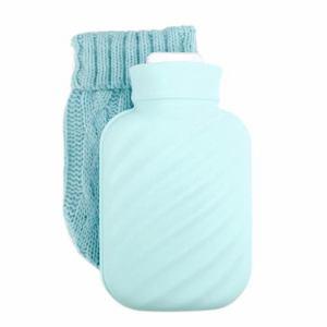 ミック Silicone Soft Bottle ポータブルシリコン湯たんぽ ブルー SB-2000-1