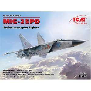 ICM 1/ 48 ミグ MIG-25 PD(48903)プラモデル