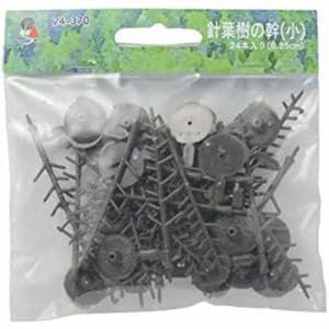 カトー  24-370 針葉樹ノ幹 小 60~10-MM 24本入