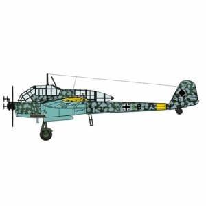 ハセガワ 1/72 フォッケウルフ Fw189A-1 ナイトファイター 02286