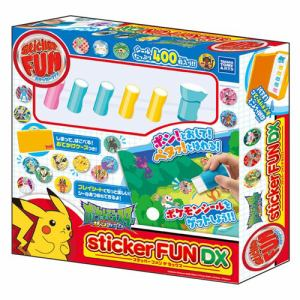タカラトミーアーツ StickerFUN DX ポケットモンスター