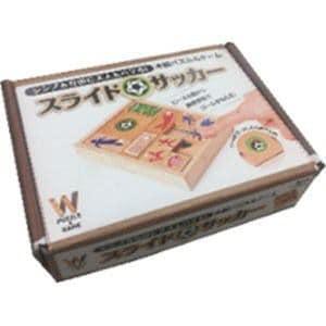 幻冬舎エデュケーション 木製パズル&ゲーム スライドサッカー