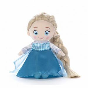 タカラトミー ディズニーキャラクター  マイフレンドプリンセス  ヘアメイクプラッシュドール  アナと雪の女王 エルサ