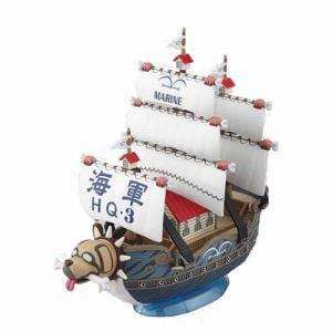 バンダイ  ワンピース 偉大なる船コレクション 08 ガープの軍艦