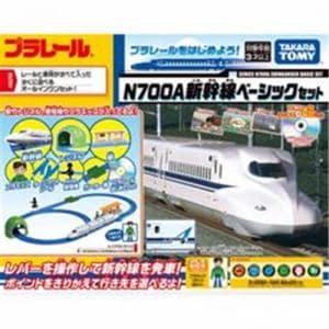 タカラトミー プラレール N700A新幹線ベーシックセット プラレールはじめてDVD付き