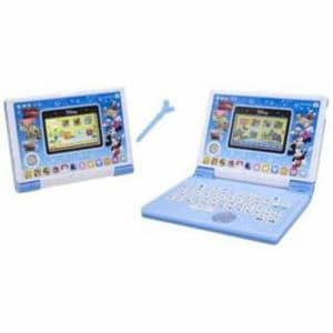 バンダイ ディズニー&ディズニー/ピクサーキャラクターズ パソコンとタブレットの2WAYで遊べる! ワンダフルドリームタッチパソコン