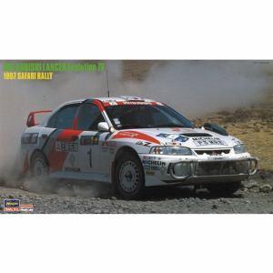 ハセガワ カーモデルシリーズ 20395 三菱 ランサー エボリューション Ⅳ 1997 サファリ ラリー