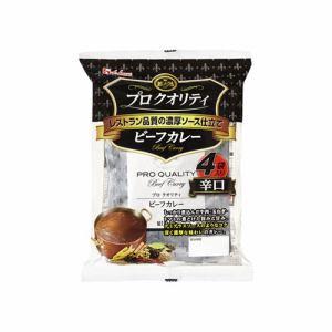 ハウス食品 ハウス プロクオリティ ビーフカレー辛口 170gX4