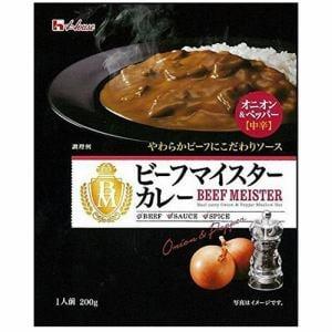 ハウス食品 ビーフマイスターカレー オニオン&ペッパー(中辛) 200g
