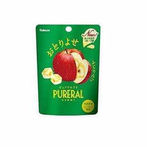 カバヤ食品 ピュアラルグミりんご 45g
