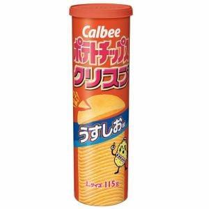 カルビー ポテトチップス クリスプ うすしお味 115g