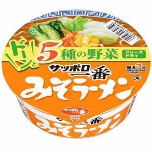 サンヨー食品 サッポロ一番 みそラーメン どんぷり 75g(60g)