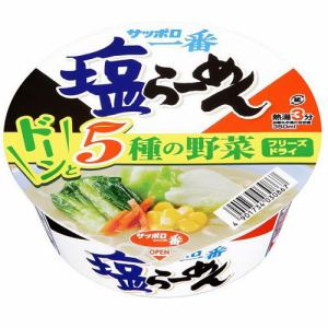 サンヨー食品 サッポロ一番 塩らーめん どんぷり 76g(60g)