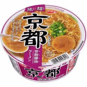 サンヨー食品 サッポロ一番 旅麺京都背油醤油ラーメン カップ 87g