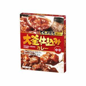 ハウス食品 大釜仕込みカレー 中辛 170g