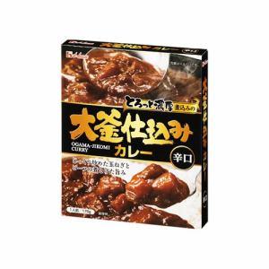ハウス食品 大釜仕込みカレー 辛口 170g