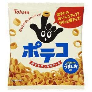 株式会社東ハト ポテコ うましお味 ポテコ うましお味  86g