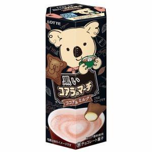 ロッテ 黒いコアラのマーチ<ココア&ミルク> 48g