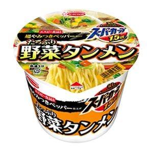 エースコック スーパーカップ1.5倍 たっぷり野菜タンメン 超やみつきペッパー仕上げ 108g