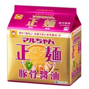 東洋水産 マルちゃん正麺 豚骨醤油 5食パック
