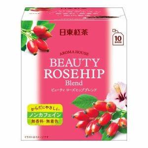 日東紅茶 アロマハウス ビューティ ローズヒップブレンド 10袋