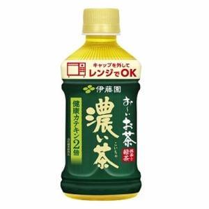 伊藤園 お~いお茶 濃い茶 電子レンジ対応 ホットPET (345mL)