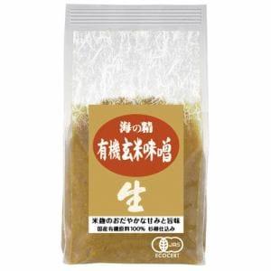海の精 国産有機・玄米味噌1kg 味噌