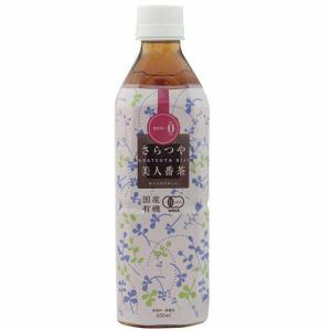 ムソー 国産有機さらつや美人番茶500ml お茶(ペット、缶)
