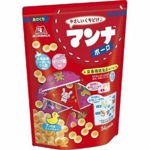 森永製菓 マンナ ポーロ (34g) 【栄養機能食品】